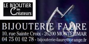 Bijouterie Faure Montélimar Partenaire Rochemaure Aquarelle Biennale Stages 2018