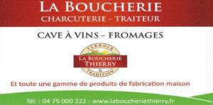 Boucherie Thierry Traiteur Le Teil Partenaire Rochemaure Aquarelle Biennale Stages 2018