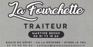 La Fourchette Le Teil Partenaire Rochemaure Aquarelle Biennale Stages 2018
