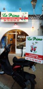 La Prima Pizza Rochemaure Partenaire Rochemaure Aquarelle Biennale Stages 2018