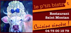 le p'tit bistrot de Saint-Montan Partenaire Rochemaure Aquarelle Biennale Stages 2018