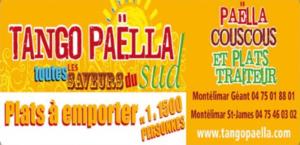 Tango Paëlla Montélimar Partenaire Rochemaure Aquarelle Biennale Stages 2018