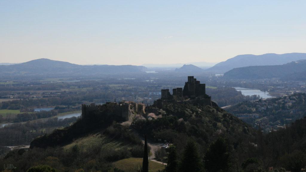 Rochemaure Village de caractère Ardèche Vallée du Rhône