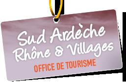 Office de Tourisme Intercommunal Sud Ardèche Partenaire Rochemaure Aquarelle Biennale Stages 2018
