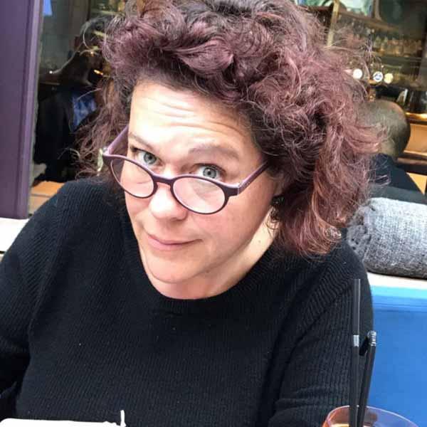 Isabelle CORCKET Biennale 2021 Rochemaure Aquarelle
