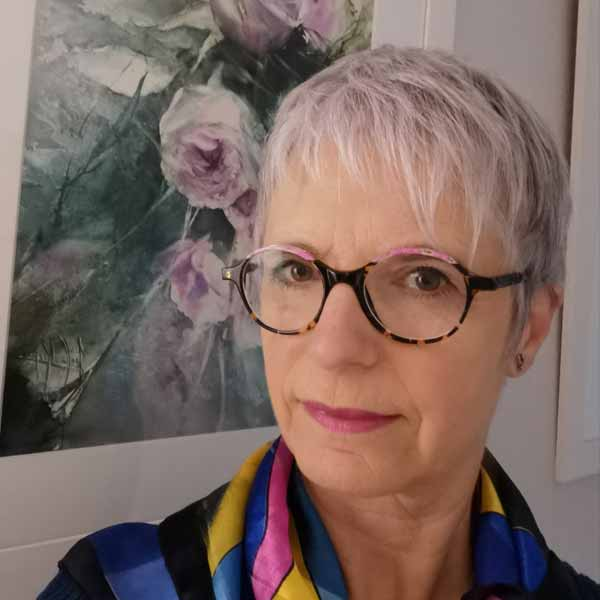 Joëlle Krupa aquarelliste biennale-2021 Rochemaure Aquarelle