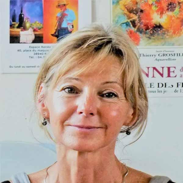 Dominique VIN-VAUTHIER Biennale 2021 Rochemaure Aquarelle